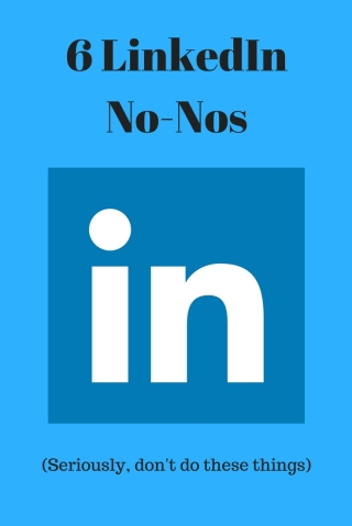 6 MISTAKES TO AVOID ON LINKEDIN